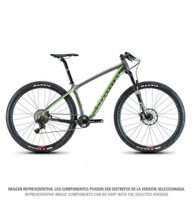 AIR 9 CARBON RACE (GUN METAL/NINER GREEN)
