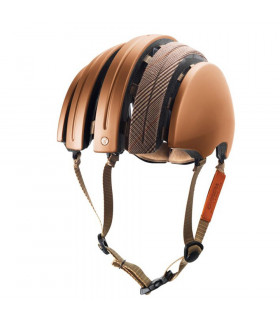 CASCO BROOKS CARRERA SPECIAL PLEGABLE (COOPER-BROWN/XL)