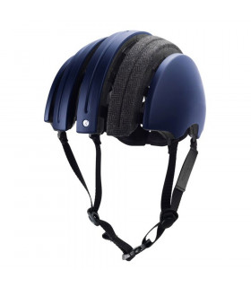 CASCO BROOKS CARRERA SPECIAL PLEGABLE (AZUL-GRIS/XL)