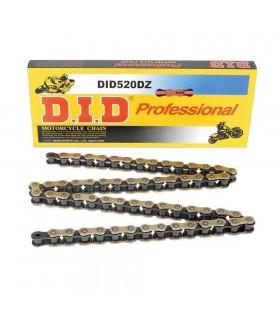 DID 520 DZ RACING CHAIN BLACK/GOLD (122 LINKS)