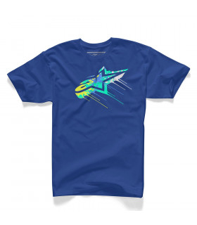 CAMISETA ALPINESTARS DRIPS   (ROYAL BLUE)