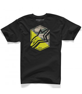 CAMISETA ALPINESTARS DISRUPTION (NEGRA)