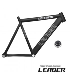 FRAMESET LEADER 721 BLACK RETRO MATTE