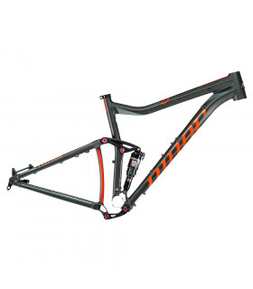CUADRO NINER JET 9 AEROFORMED (BLACK/ORANGE)