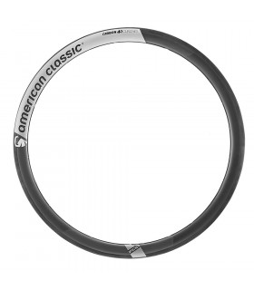 ARO AMCLASSIC CARBON 40mm 18H  CLINCHER TOUR BLACK