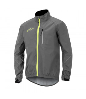ALPINESTARS DESCENDER WINDPROOF JACKET  (GREY/YELOW