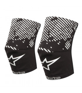 ALPINESTARS KNEE SOCKS (BLACK/WHITE)