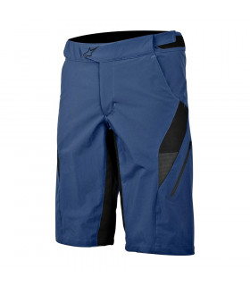 PANTALÓN CORTO ALPINESTARS HYPERLIGHT (AZUL/COOL GREY)