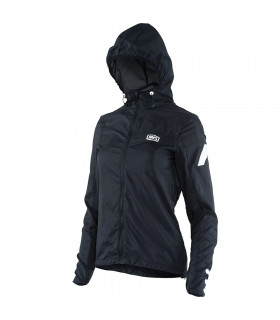 WINDBREAKER CHICAS AERO TECH NEGRO