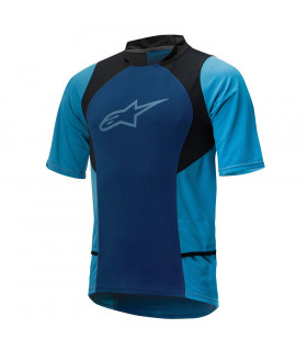 MAILLOT ALPINESTARS DROP 2 (BLUE STRATOS/AQUA)