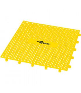 PARQUET PLASTICO RTECH AMARILLO (9 PZS. / 1M x 1M)