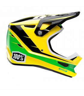 CASCO 100% STATUS DH/BMX D-DAY AMARILLO