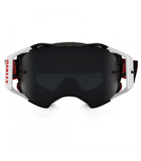 red and black oakleys p171  OAKLEY AIRBRAKE FACTORY B1-B RED/BLACK