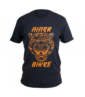 CAMISETA NINER RIP BLACK/ORANGE.