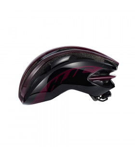 CASCO HJC IBEX GLOSS BURGUNDY/BLACK