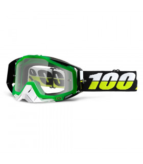100% RACECRAFT SIMBAD GOGGLES (CLEAR LENS)