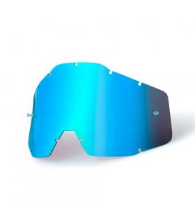 100% ANTI FOG LENS (MIRROR BLUE)