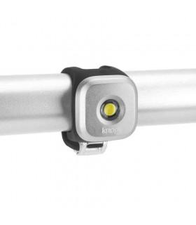 LUZ LED DELANTERA KNOG BLINDER 1 (PLATEADA)
