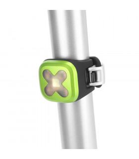 KNOG BLINDER 1 REAR LED BIKE LIGHT (CROSS/LIME)