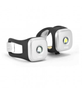 KNOG BLINDER 1 LED LIGHT TWINPACK (SILVER)