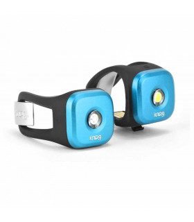 KNOG BLINDER 1 LED LIGHT TWINPACK (BLUE)