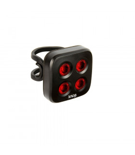 LUZ TRASERA KNOG BLINDER MOB THE FACE (NEGRA)