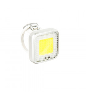 LUZ DELANTERA KNOG BLINDER MOB MR CHIPS (PLATEADA)