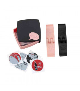 KNOG PC PATCH KIT (BLACK/PINK)