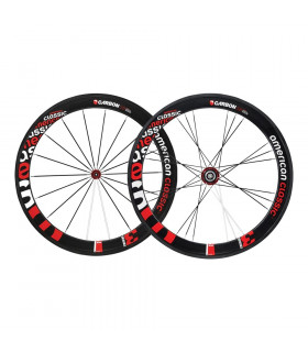 AMERICAN CLASSIC CARBON 58 CLINCHER (ALPHATYPE BLACK)