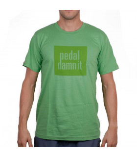 CAMISETA NINER PEDAL DANM IT (VERDE)