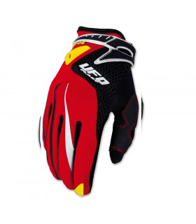 GUANTES UFO ICONIC INFANTILES (ROJOS)