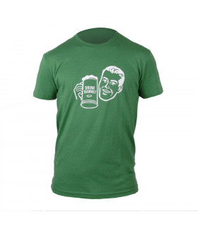 CAMISETA NINER DRINK DAMN IT (VERDE)