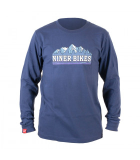 NINER FRONT RANGER LONG SLEEVE T-SHIRT (BLUE)