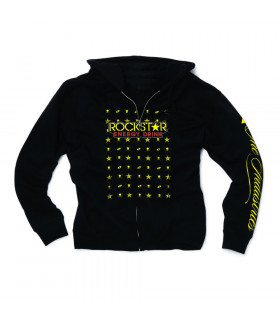 SUDADERA  ONE INDUSTRIES ROCKSTAR BLUEPRINT (NEGRA)