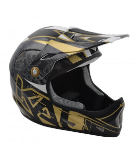 CASCO KALI AVATAR (GALAXY-BLACK/GOLD)