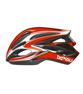 CASCO KALI LOKA (CRYSTAL-RED/WHITE)