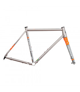 CUADRO NINER RLT 9 DE ACERO  (FORGE GREY/SAFETY ORANGE)