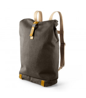 MOCHILA BROOKS PICKWICK MEDIANA (MUD GREY)