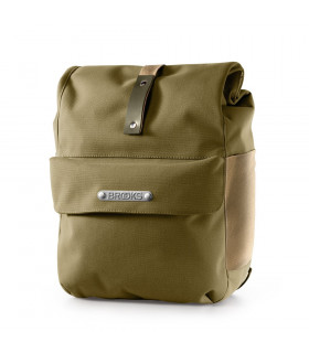 BROOKS NORFOLK FRONT PANNIER (GREEN)