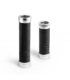 BROOKS SLENDER LEATHER GRIPS  (BLACK/100 MM-130 MM)