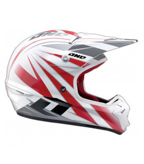 ONE INDUSTRIES KOMBAT STRIPE HELMET (SIZE: XL)