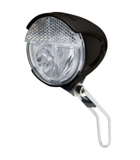 TRELOCK LS 583 BIKE-I RETRO FRONT LIGHT (BLACK)