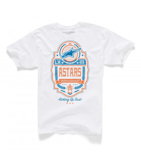 CAMISETA ALPINESTARS LABELED (BLANCA)
