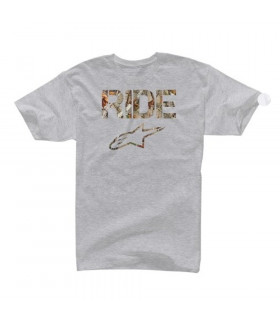 CAMISETA ALPINESTARS RIDE CAMO (ATHLETIC HEATHER)