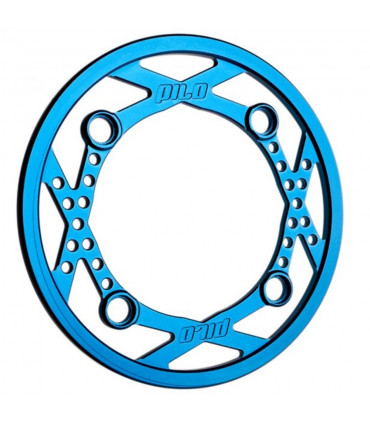 PILO ALUMINIUM BASH GUARD RING 36T (BLUE)
