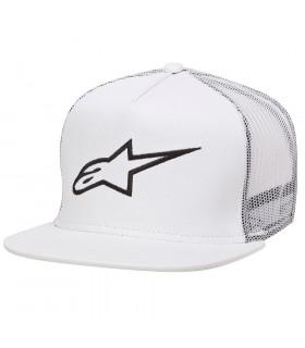 ALPINESTARS CORP TRUCKER CAP (WHITE)