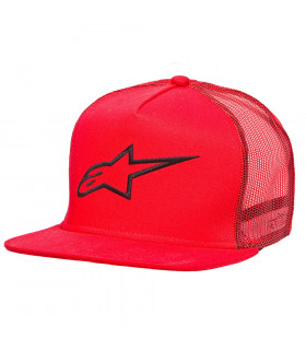 ALPINESTARS CORP TRUCKER CAP (RED)