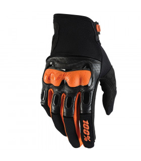 100% DERESTRICTED GLOVES (BLACK/ORANGE)