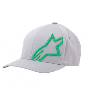 ALPINESTARS CORP SHIFT2 CAP (GREY/GREEN)