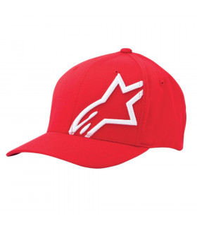 ALPINESTARS CORP SHIFT2 CAP (RED/WHITE)